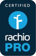 certified Rachio Pro
